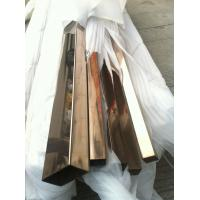 Wholesale colored stainless steel tube with 600 grit finish manufacture supplying directly from china suppliers