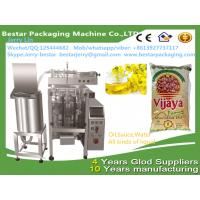 China Automatic cooking oil packaging machine , 1kg cooking oil packing machine bestar packaging machine on sale