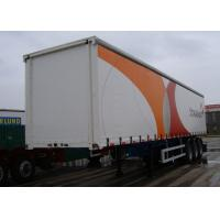 Wholesale 45ft Curtain Drop Side Dry Freight Truck Bodies , 3 Axles Utility Dry Van Trailer from china suppliers