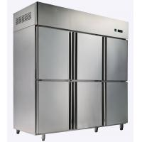 Buy cheap High Grade Upright Energy Efficient Refrigerator With Six Door , No Frost from wholesalers