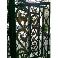 Wholesale Wrought Iron Fence , Welded Wire Mesh Fencing For Farm / Garden from china suppliers