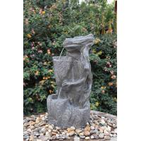 China Outdoor Tiered Water Fountains , Tiered Garden Fountains For Home Decoration  wholesale