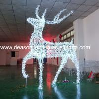 Wholesale Led Christmas reindeer outdoor decoration from china suppliers