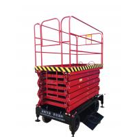 Buy cheap Mobile Scissor Lift With 300Kg Loading Capacity with 11m working height from wholesalers