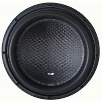 China Deep bass High performance Competition Car Subwoofers , RMS 2000W 12 Inch  Subwoofer on sale