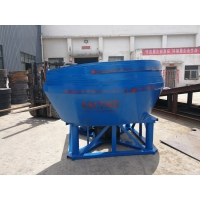 Wholesale Gold Mining Gold Wet Pan Mill from china suppliers