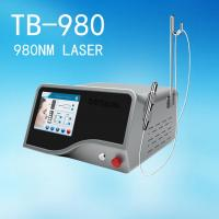Buy cheap Clinic 980 nm Diode Laser Vascualr Removal Treatment / Spider Vein Removal from wholesalers