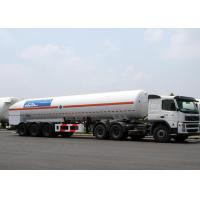 Wholesale 52600L LNG Tank Truck Trailer Tri Axles For Liquid Natural Gas Transport from china suppliers