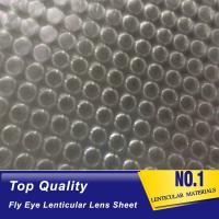 Wholesale OK3D fly eye 3d sheet new product dot lens sheet 3d effect 360 degrees lenticular sheet arrays fly eye lenses sheet from china suppliers