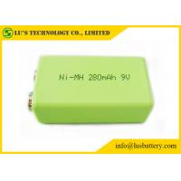 Wholesale 9V 280mah Prismatic Nimh Battery 6F22 9v Battery nimh rechargeable battery 9v from china suppliers