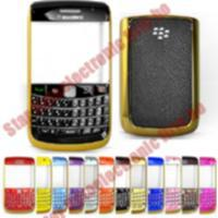 China Gold Shiny Bezel Housing Cover For Blackberry Bold 9700 on sale
