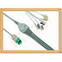 Spacelabs ECG Patient Cable 17 Pin One Piece 5 Leads Grabber IEC