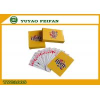 Buy cheap Coolest Personalized Oversized Playing Cards For Entertainment , Oversized Poker Chips from wholesalers