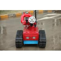 Wholesale Remote Control Automatic Fire Fighting Robot , Automatic Fire Extinguisher Robot from china suppliers