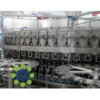 China 15KW Carbonated Soft Drink PET or Glass Bottle monoblock rinsing filling capping machine wholesale