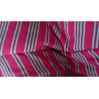 Wholesale Soft Insulated 100% Polyester Vertical Striped Fabric For Shirting 280m Width from china suppliers