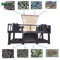 Wholesale Single Shaft Plastic Shredder Machine / Chipper Machine For PET Bottle Rubber Tire from china suppliers