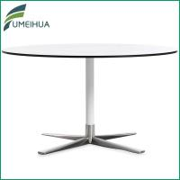 Fumeihua white solid core laminate restaurant coffee table for Table 90x120