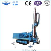 Wholesale Hydraulic Multifunctional High Lifting Anchor Drilling Rig with Crawler Chassis MDL - 150H from china suppliers