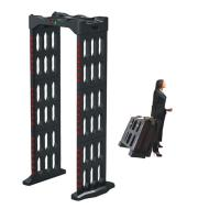 Buy cheap Portable Walk Through Body Metal Detectors Archway Door Frame Machine AC110V from wholesalers
