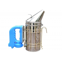 Wholesale American Type Electrical Bee Smoker  M  Size with Dark Bule Handle of Bee Hive Smoker from china suppliers
