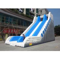 Wholesale 9 meters high commercial adult giant inflatable slide for sale price from Guangzhou factory from china suppliers