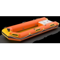 Wholesale Double Pump Spray One Key Boot 528kg Self Inflating Life Boat from china suppliers