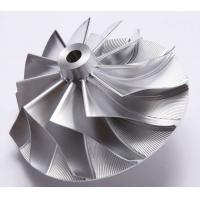 Wholesale Forged 5 Axles CNC Fully Machined Aluminum Billet Compressor Wheel from china suppliers