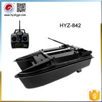 Battery power rc fibergalss catamaran bait boat of item for Fish catching rc boat