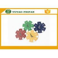 Wholesale Casino Borad Game 11.5 Gram Customised Poker Chips With Foil Stamping Sticker from china suppliers