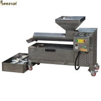Wholesale Seperting Beeswax Screw 50kg/H Honey Press Machine 304 Stainless Steel from china suppliers