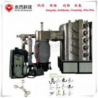 Wholesale Trouser / Dress Hooks Pvd Ion Plating Machine , Titanium Gold Vacuum Plating Machine from china suppliers