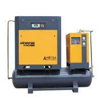 Wholesale tank and dryer mounted screw air compressor from