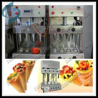 Wholesale best selling pizza cone maker machine from china suppliers