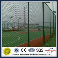 Wholesale Anping plastic diamond mesh chain link fencing from china suppliers