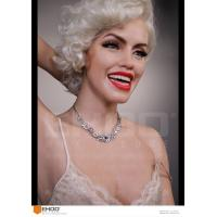 Wholesale sexy marilyn monroe silicone Statues Hollywood Celebrity Realistic Wax Museum from china suppliers