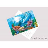 Wholesale Souvenir 3D Lenticular Postercard Colorful PET + 0.16mm Coated Paper from china suppliers