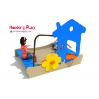 Wholesale Sand Pit Plastic Playground Equipment Pe Board Eco - Friendly Hdpe Material from china suppliers