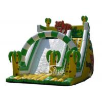Wholesale 6 Mts High Kids Outdoor Inflatable Jungle Slide Made Of 0.55mm Pvc Tarpaulin from china suppliers