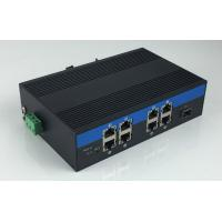 Wholesale 8-Port 10/100/1000Base-Tx and 1-Port 1000Base-Fx Industrial Grade Fiber Switch with 8-Port POE from china suppliers