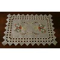 China Linen Placemat with Cutwork Design (JSS-120) on sale