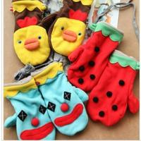 Wholesale kids cartoon  fleece gloves and mitt from china suppliers