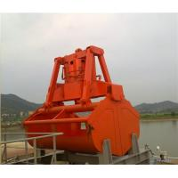 Quality 25T Industrial Clamshell Electro Hydraulic Grabs / Grapple for Ship Crane 6 - for sale