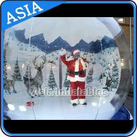 China strong pvc christmas snow globe inflatable bubble tent for