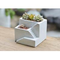 Custom Cement Pot Molds Silicone Concrete Square Vase Mold Cement