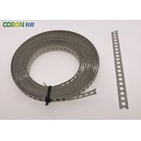 Wholesale Perforated Metal Fixing Band 10m Galvanized Steel With Color Powder Coated from china suppliers