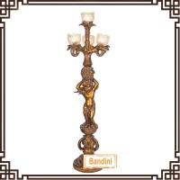 Wholesale Newest special polyresin floor lamp / unique hand painting floor lamp10566GE from china suppliers