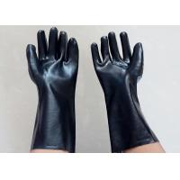 Wholesale Abrasion Resistant Heavy Duty Gauntlet Gloves , Insulated PVC Gloves Open Cuff from china suppliers