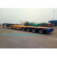 Wholesale Tri Axles 50 Tons SINOTRUCK Heavy Duty Low Bed TrailersFor Machine Transport from china suppliers