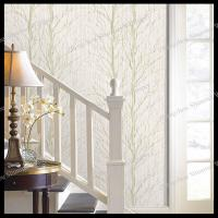 Wholesale non-woven house decoration wallpaper tree wall decal for living room bedroom from china suppliers